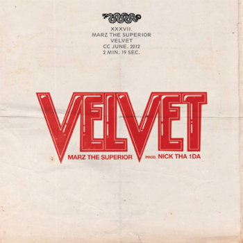 Velvet (Prod. Nick Tha 1Da) cover art