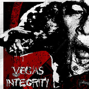 "INTEGRITY / VVEGAS split 7"" on A389 Recordings cover art"