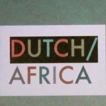 Dutch/Africa cover art