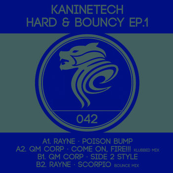 KanineTech Hard & Bouncy EP.1 cover art