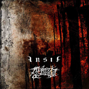 Majestic Downfall / Ansia – Split CD cover art