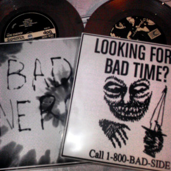 "Bad Energy / Bad Side Split 7"" cover art"