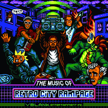 Retro City Rampage Soundtrack cover art