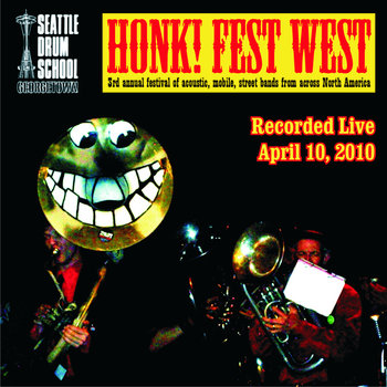 Honkfest West 2010 cover art