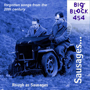Rough as Sausages (forgotten songs from the 20th century) cover art