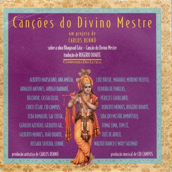"""Canções do divino mestre"" cover art"