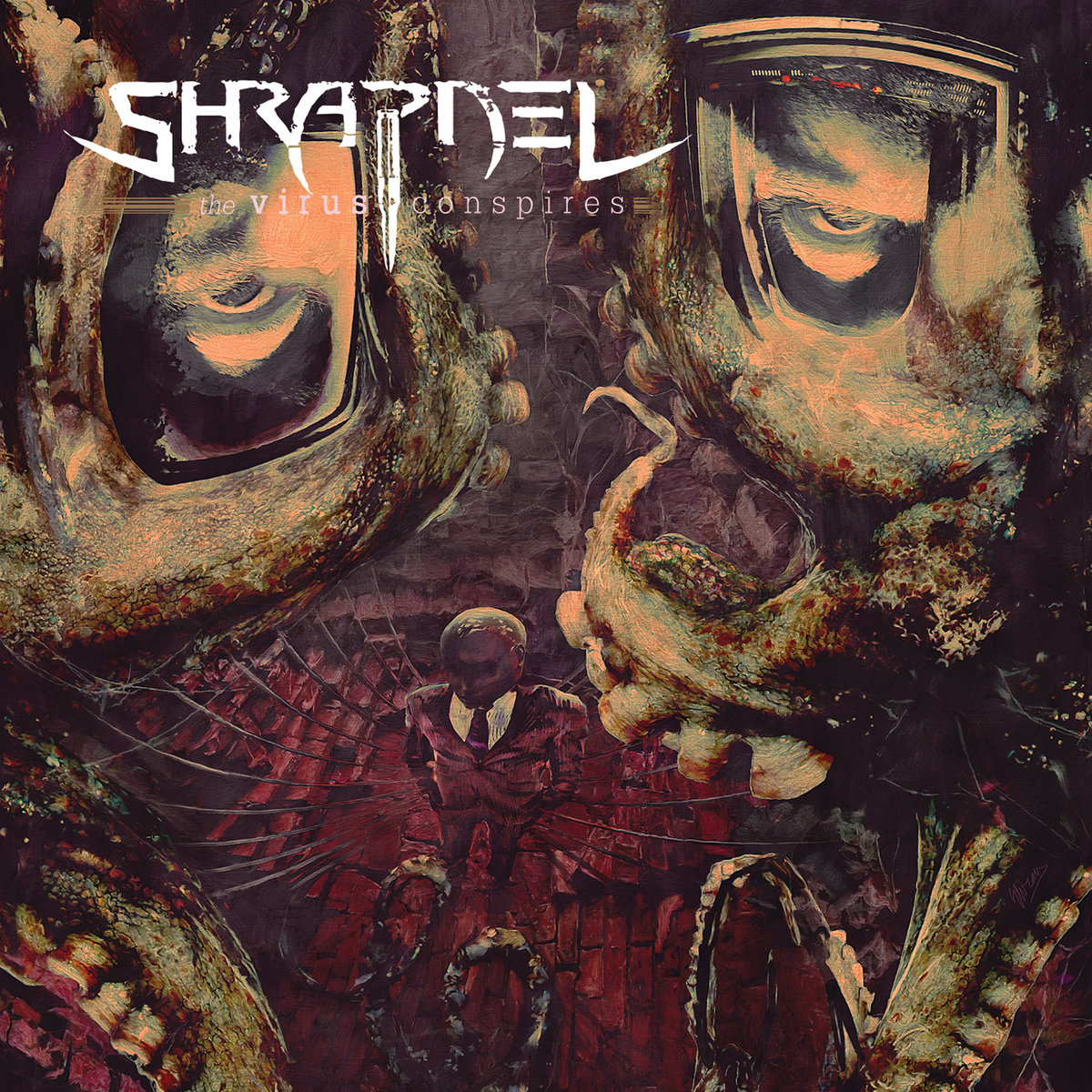 Shrapnel - The Virus Conspires (2014)