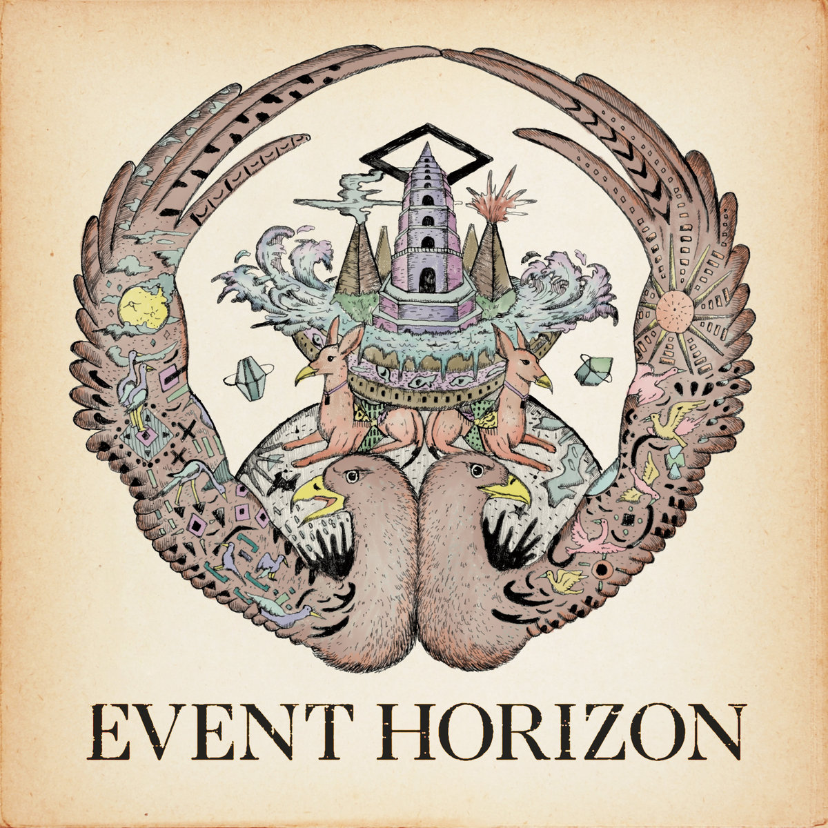 Serph - Eeven Horizon cover art