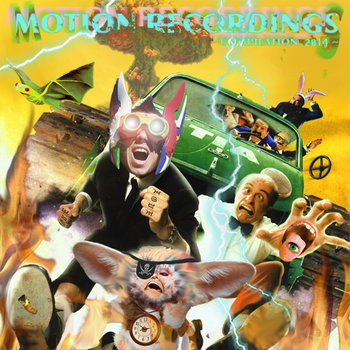 Motion Recordings Compilation 2014 cover art