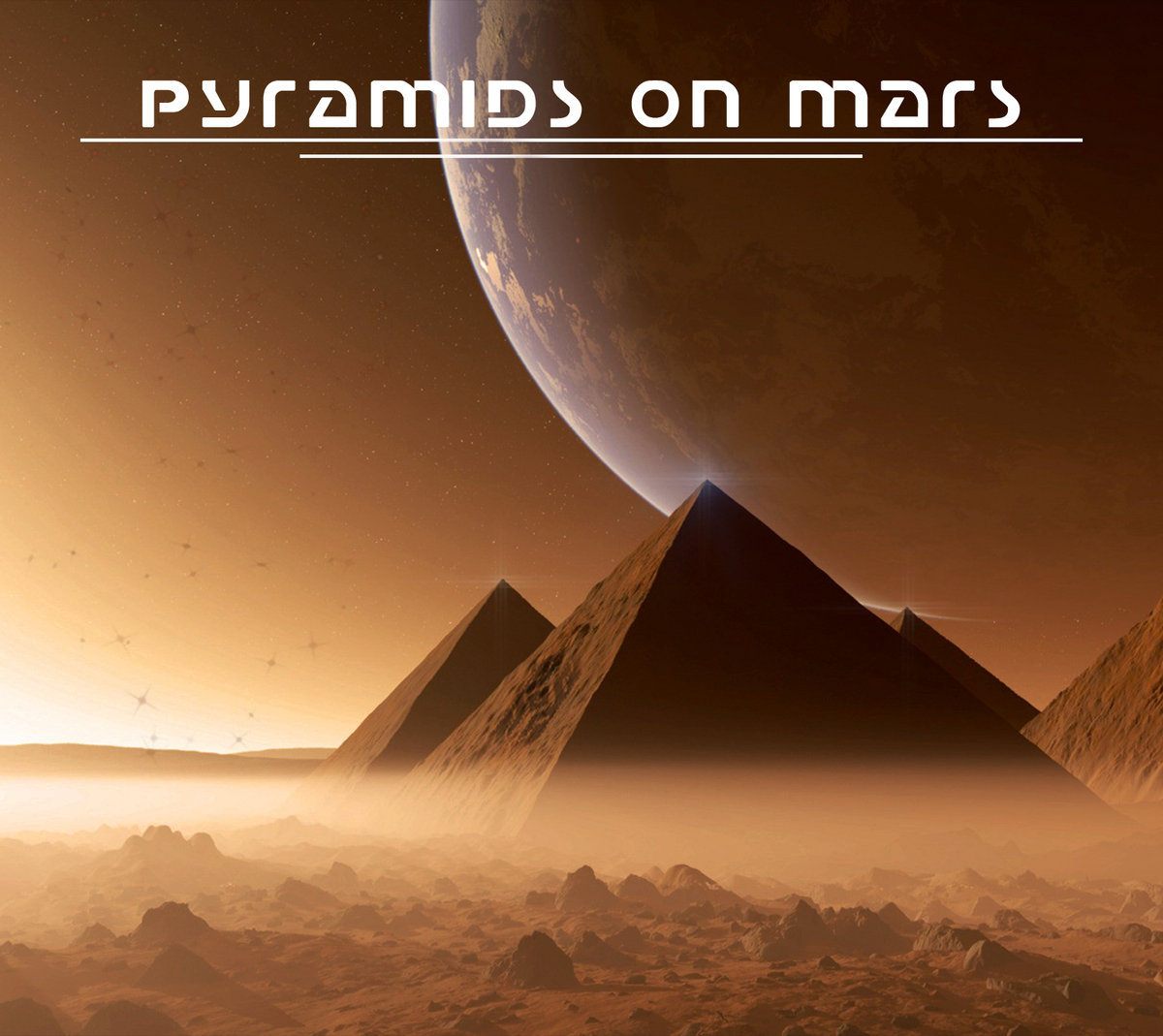 pyramids on different planets - photo #2