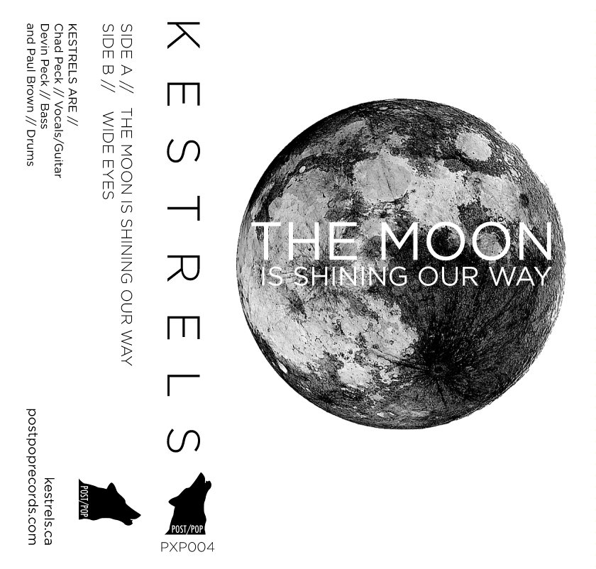 KESTRELS - THE MOON IS SHINING OUR WAY (PXP004)