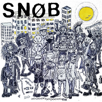 "Snøb - Exploit Me 7"" cover art"