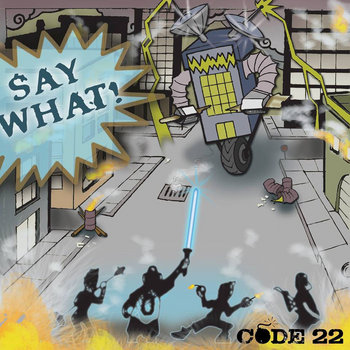 Say What! cover art
