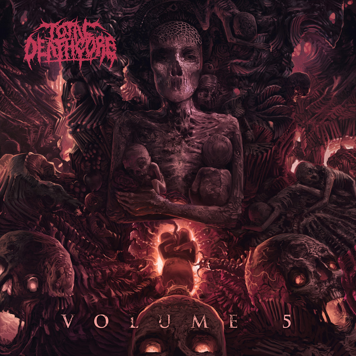 Total Deathcore Volume 5 | Total Deathcore: https://totaldeathcore.bandcamp.com/album/total-deathcore-volume-5
