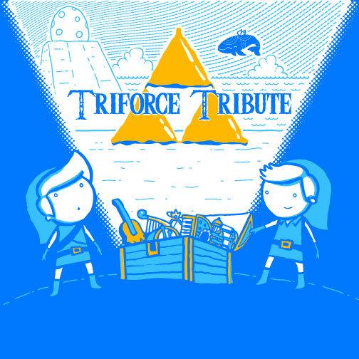 Triforce Tribute Album Cover