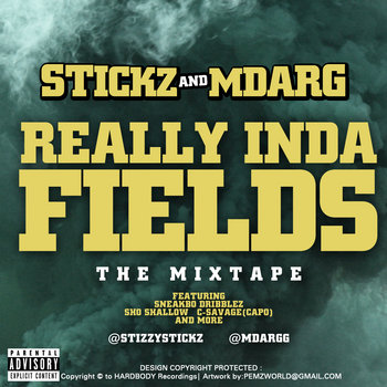 REALLY INDA FIELDS [The Mixtape] cover art